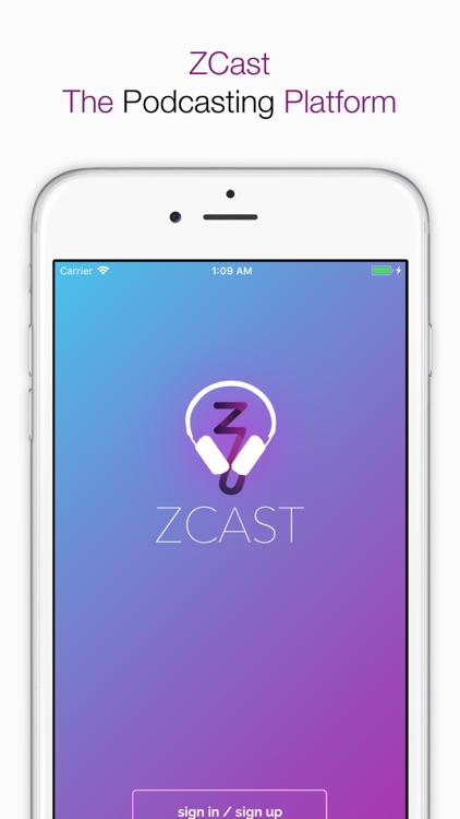 ZCast - Podcaster