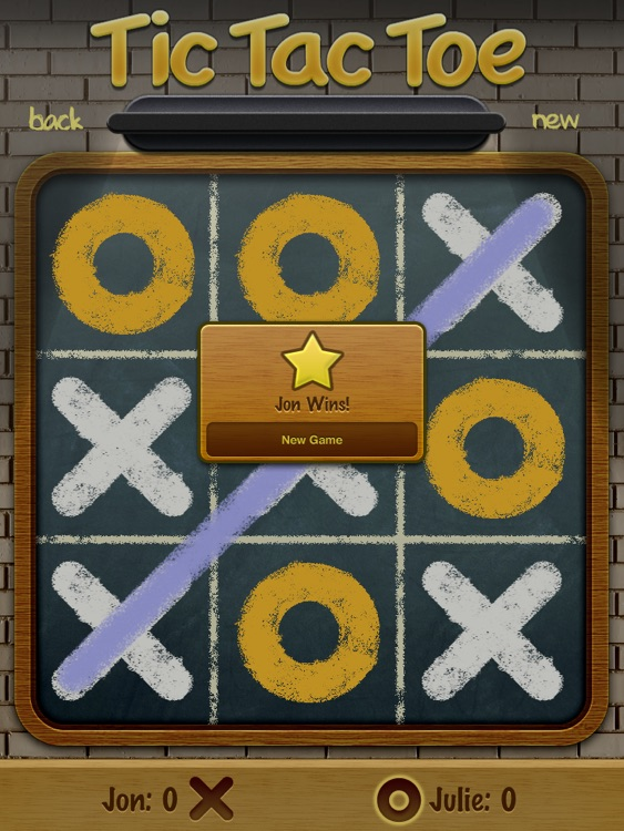 Tic Tac Toe Pro HD screenshot-1