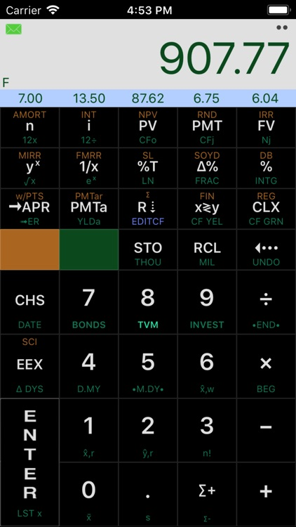 Calculator12 RPN screenshot-3