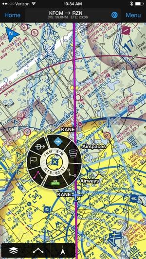Vfr Weather Map.Garmin Pilot On The App Store