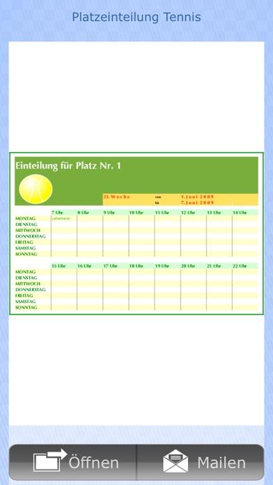 Vorlagen für NumbersScreenshot von 8