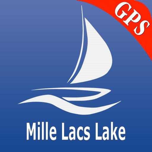 Mille Lacs Lake Nautical Chart