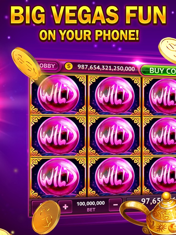 iPad Image of Big Vegas Slots