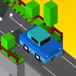 Bridge Crossing-Tap Blocky Car
