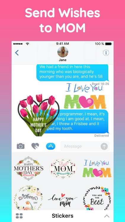 Mothers Day 2018 Sticker Pack