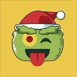 Christmas Season Hater Emoji