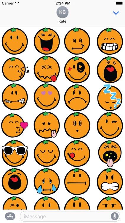 Smiley Orange Pack