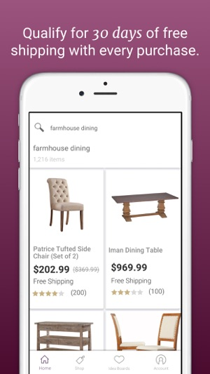 Joss U0026 Main: Furniture + Decor On The App Store