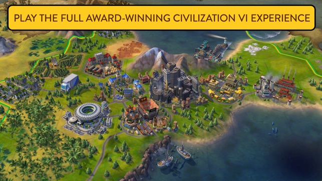 Civ 4 Earth Map.Sid Meier S Civilization Vi On The App Store