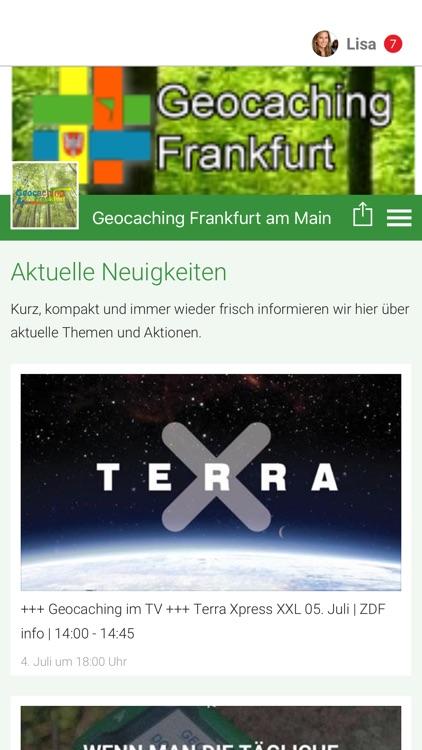 Geocaching Frankfurt am Main