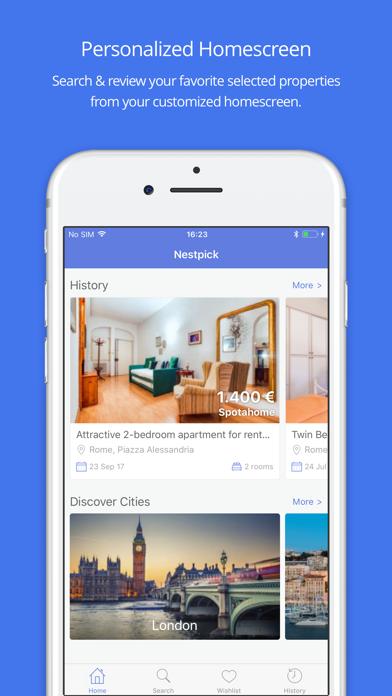 Nestpick » Apartment Finder by Nestpick (iOS, United States ...