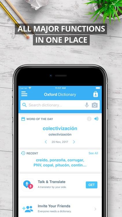 Oxford Spanish Dictionary 2018 screenshot-4