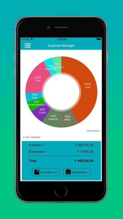 Expense Spending Tracker