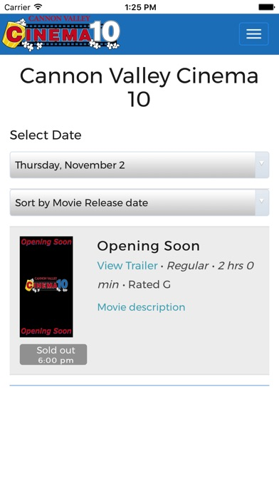 Cannon Valley Cinema 10 - App - App Store