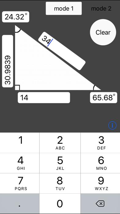 HypotenuseCalc screenshot one