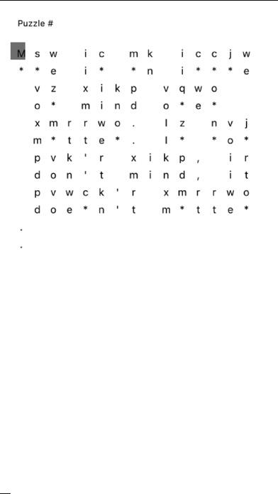 Blindfold Cryptogram Скриншоты5