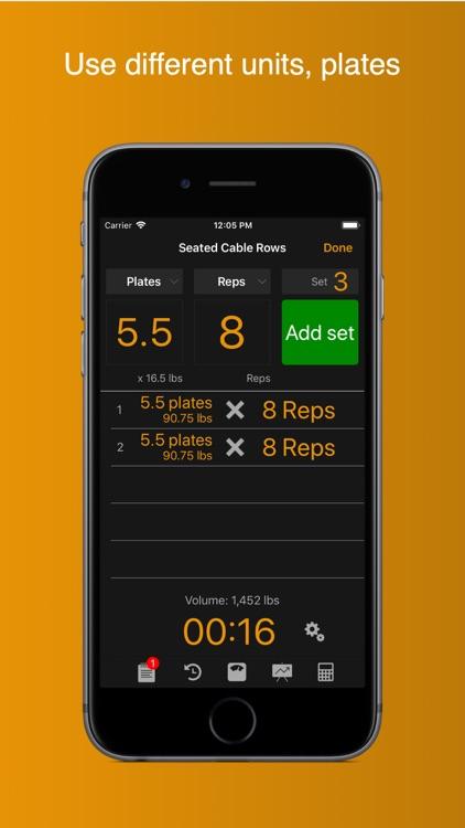Gym Horn: Workout Log Tracker screenshot-5