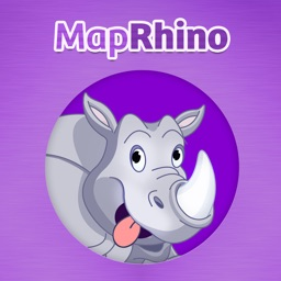 MapRhino - Are We There Yet Road Trip App