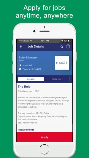 GulfTalent - Job Search App on the App Store