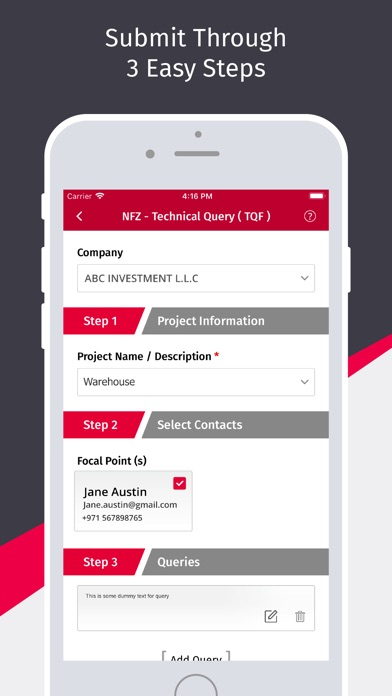 Screenshot of Masaha App