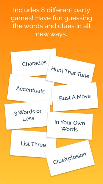 charades up word guessing party game by quiz heads by fat free