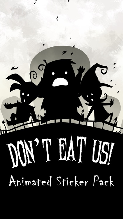 Don't Eat Us Stickers