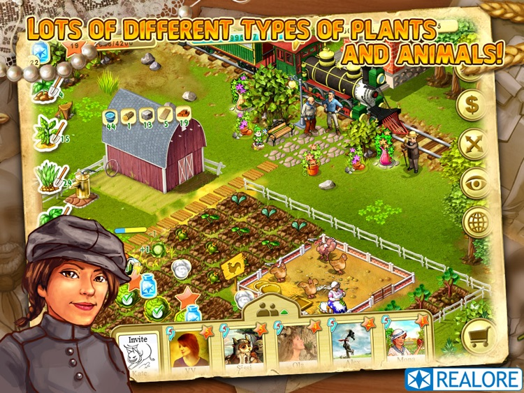 Farm Up! HD: farming business screenshot-0