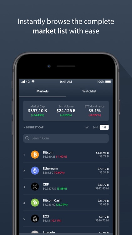 Delta Crypto Portfolio Tracker screenshot-3