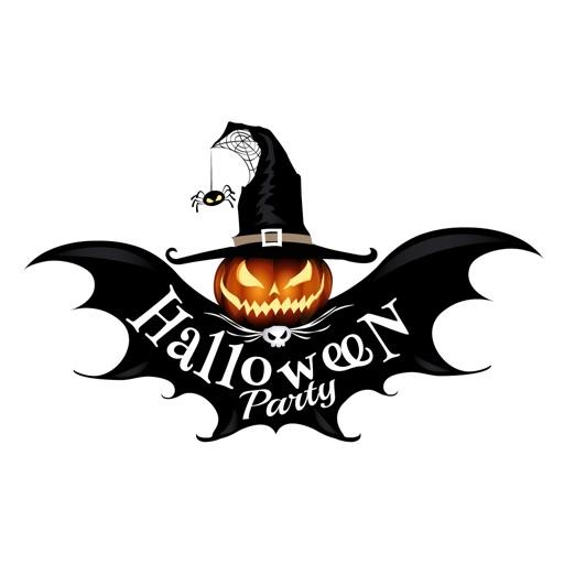 Happy Halloween Boo Sticker IM