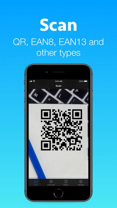 QR + BarCode Scanner Screenshots