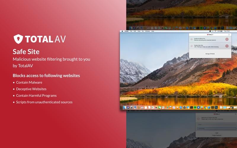 TotalAv Safe Site скриншот программы 2