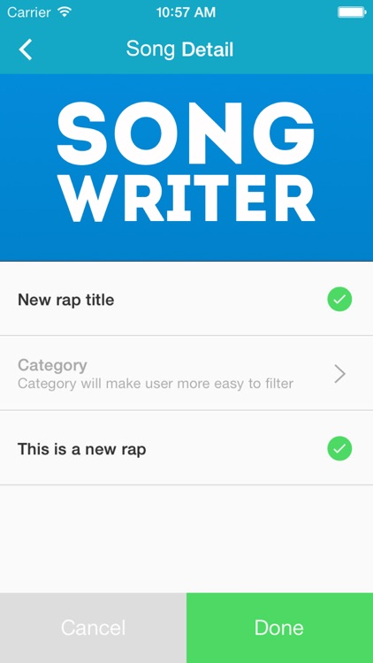 Song Writer Pro screenshot-1