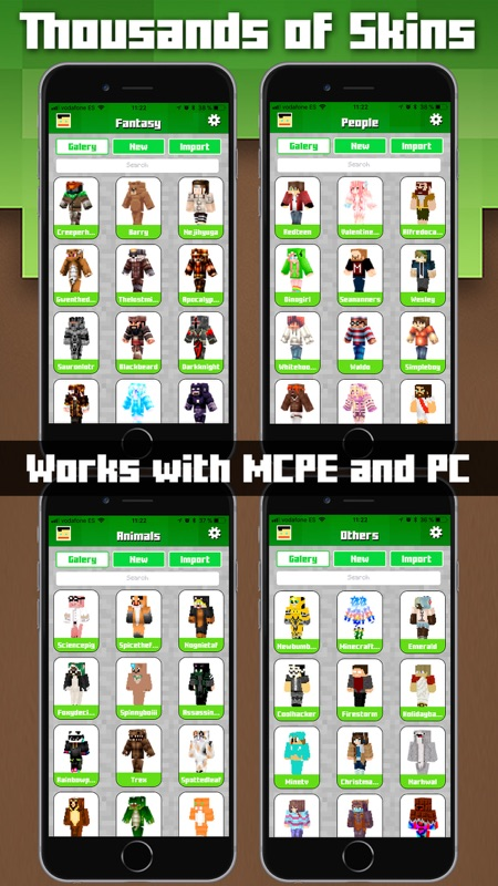 Minutes To Hack Skins For Minecraft MCPE Unlimited TryCheat - Skins para minecraft no pc