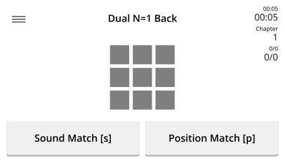 Dual N-Back - Train of Thought screenshot one