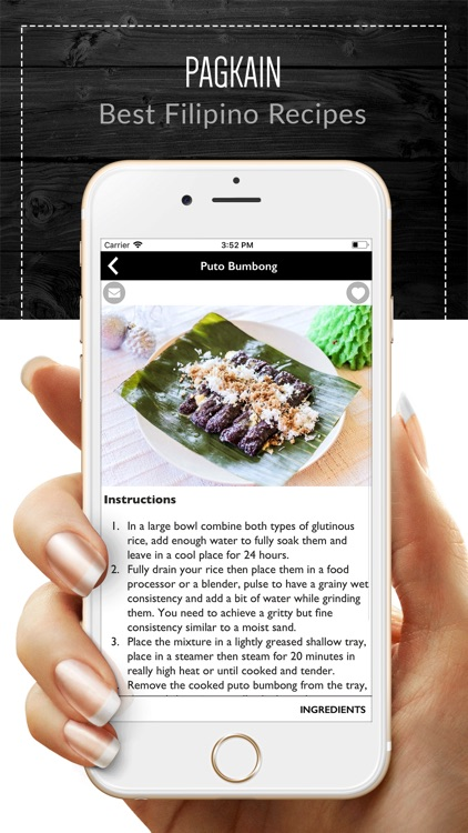 Pagkain - Filipino Recipes screenshot-2