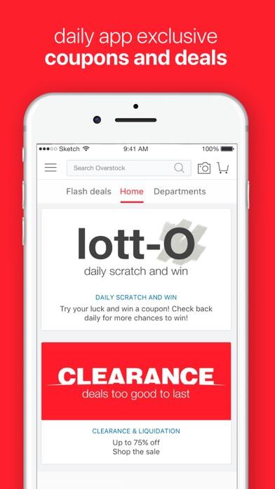 Screenshot 3 for Overstock.com's iPhone app'