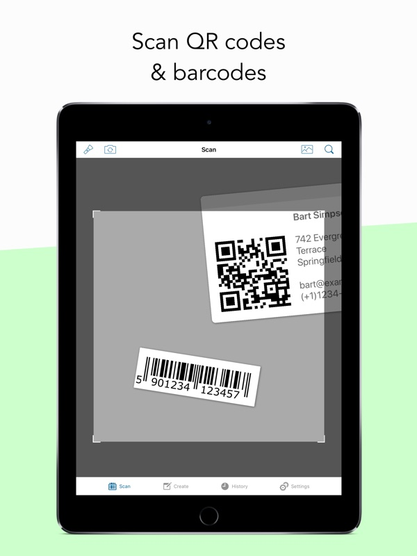 QR Code & Barcode Scanner ・ - Online Game Hack and Cheat