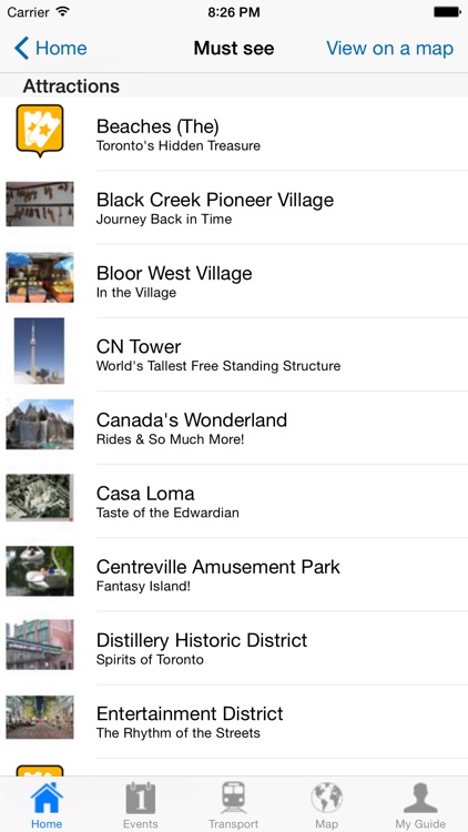 Toronto Travel Guide Offline screenshot-3