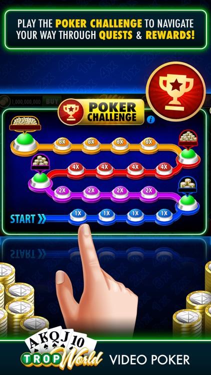 TropWorld Video Poker screenshot-5