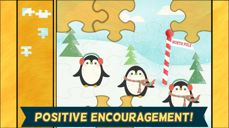 Christmas Games for Kids- Toddler Jigsaw Puzzles screenshot-4