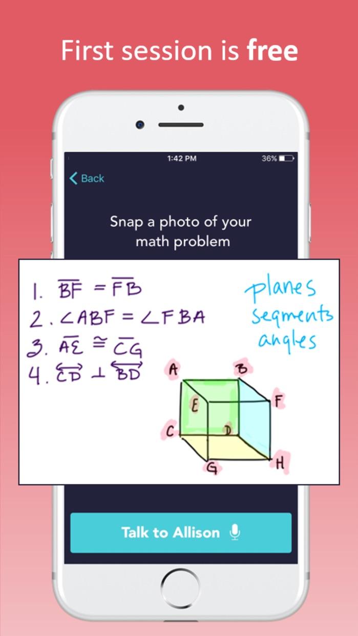 Math Help - MathElf Screenshot