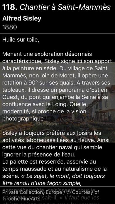 Screenshot #2 pour Sisley l'impressionniste