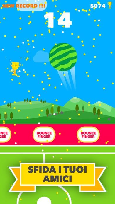 Bounce Finger - Calcio