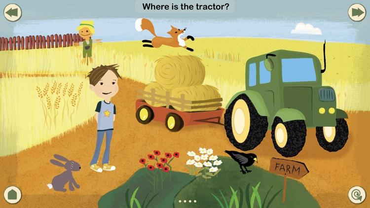 KinderApp Farm: My First Words screenshot-0