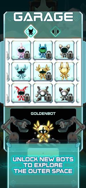 Cosmobot – Hyper Jump Screenshot