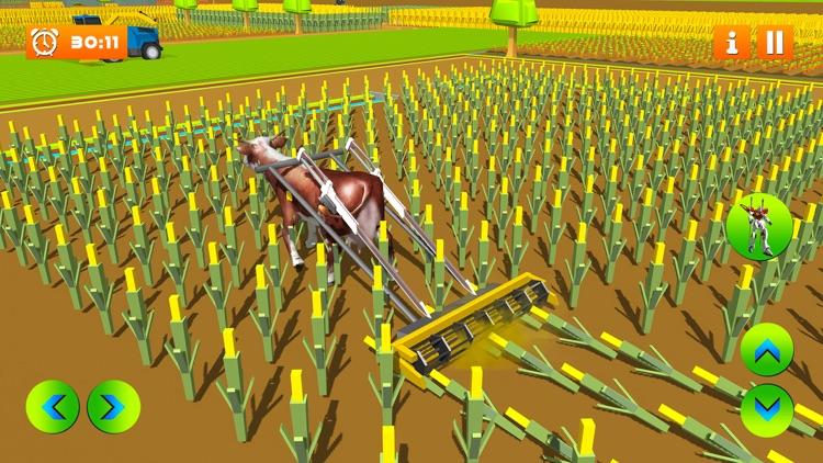 Farm Village Robot Transform screenshot-3
