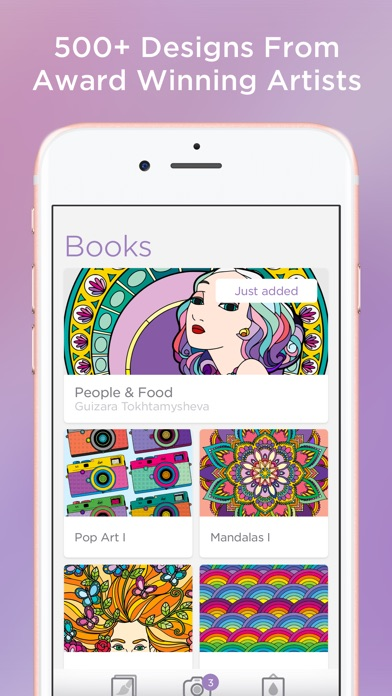 Bloom - Coloring Book app image
