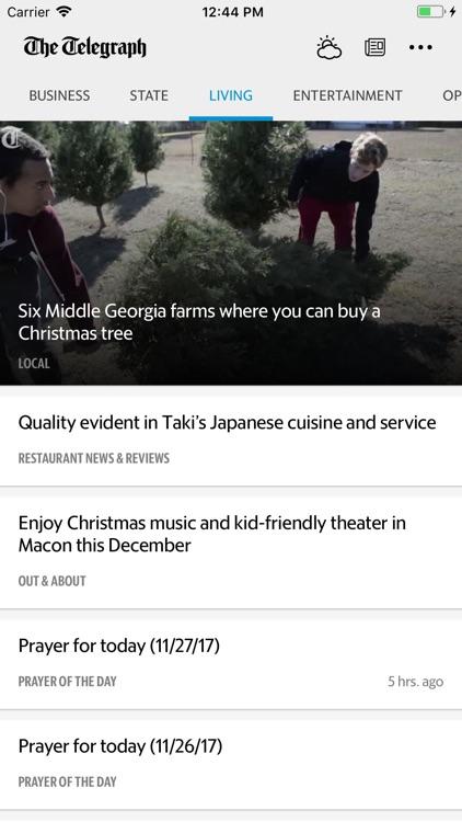 The Telegraph News screenshot-4