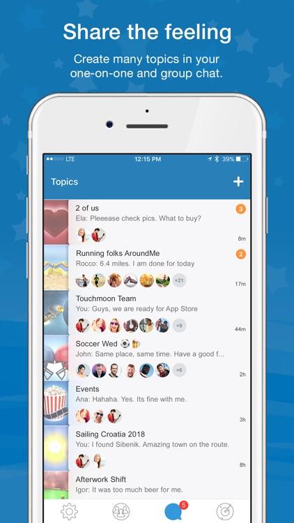 Touchmoon Messenger