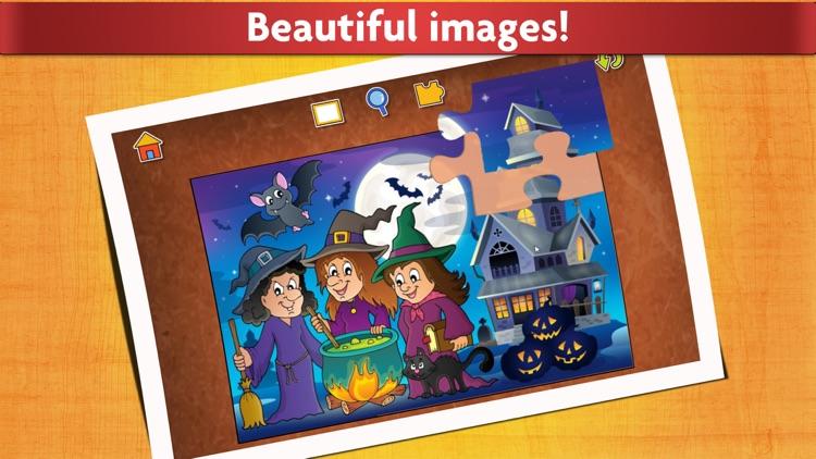 Halloween Kids Jigsaw Puzzles screenshot-4
